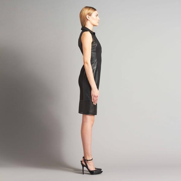 LAMARQUE ALEXIS Mixed Media Dress