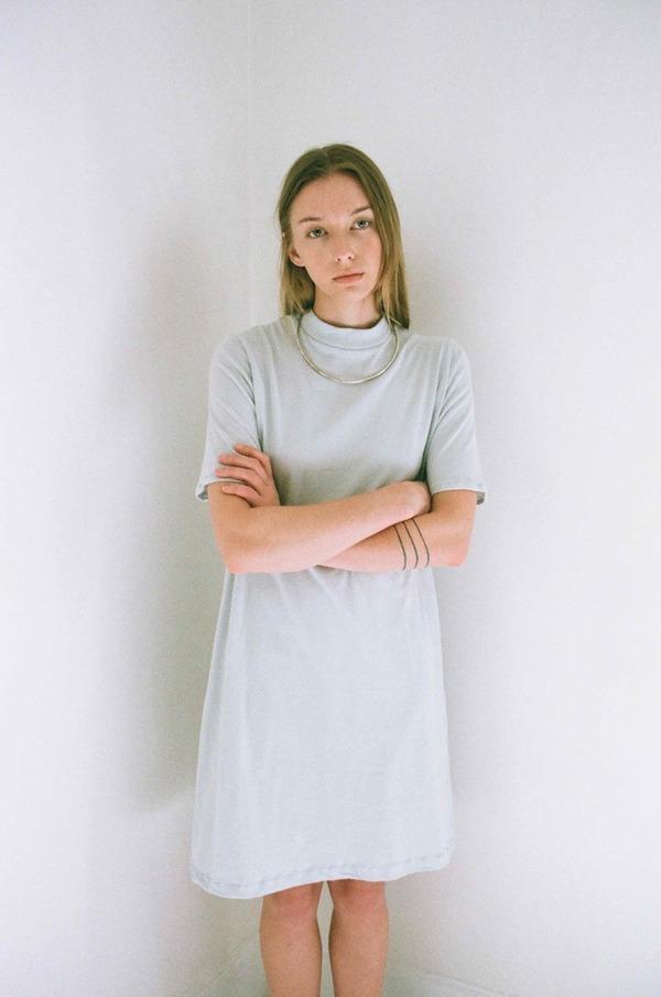 Han Starnes Jersey Dress - Ash Gray