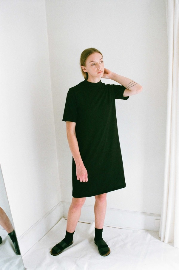 Han Starnes Jersey Dress - Black