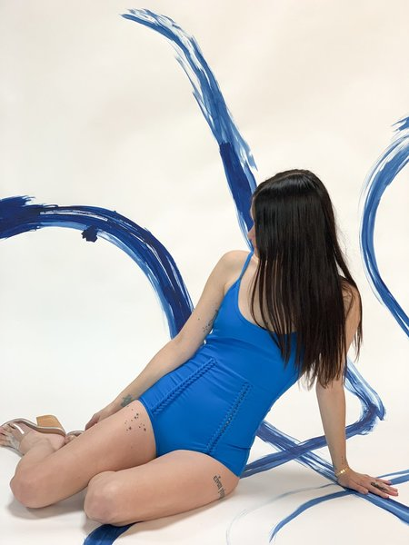 A Détacher Erin Swimsuit - Blue