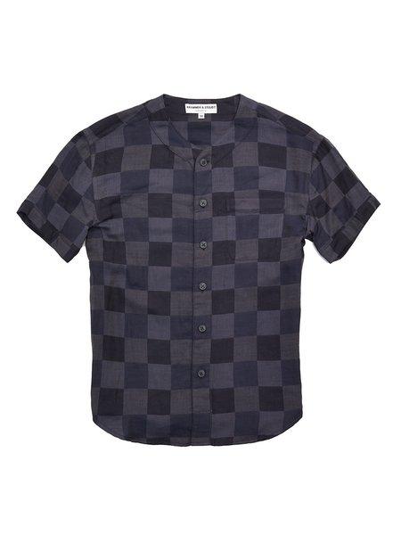 Krammer & Stoudt Baseball Shirt - Black Check
