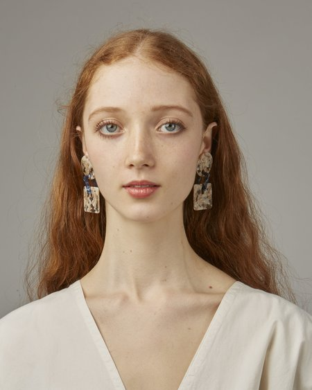 Valet Savannah Earrings - Marble