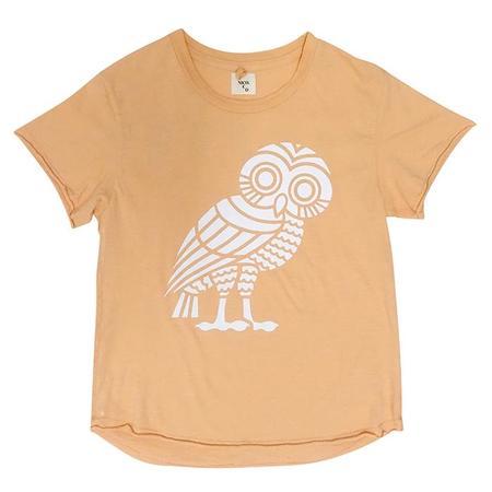 KIDS Nico Nico The Odyssey Short Sleeved T-shirt - Mandarin Orange