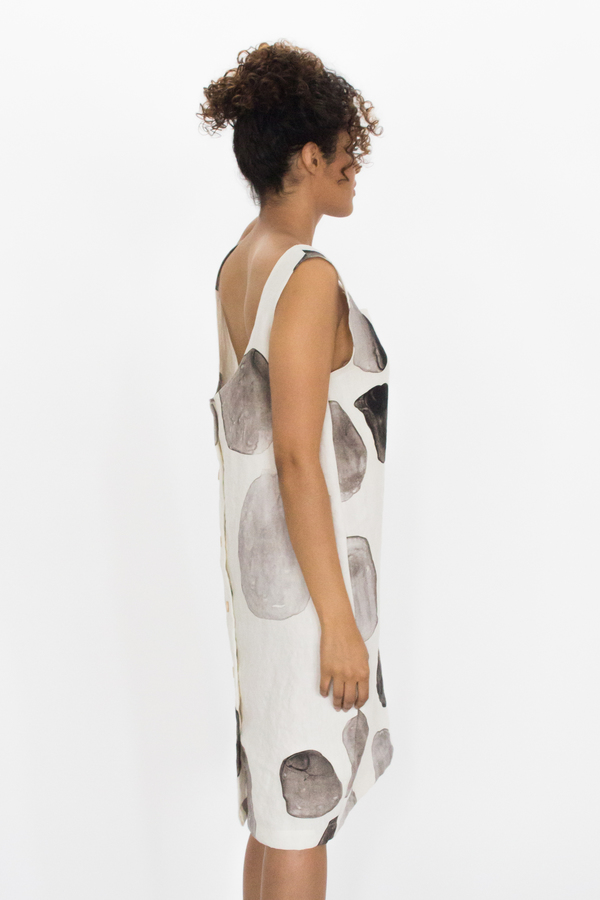 Evens Buttonback Dress