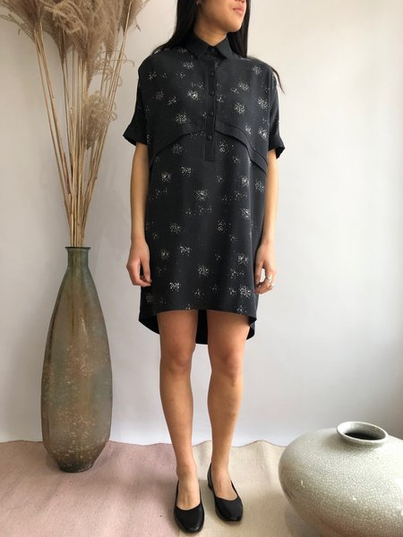 COKLUCH ALLAMANDA DRESS - SPRAY BLACK