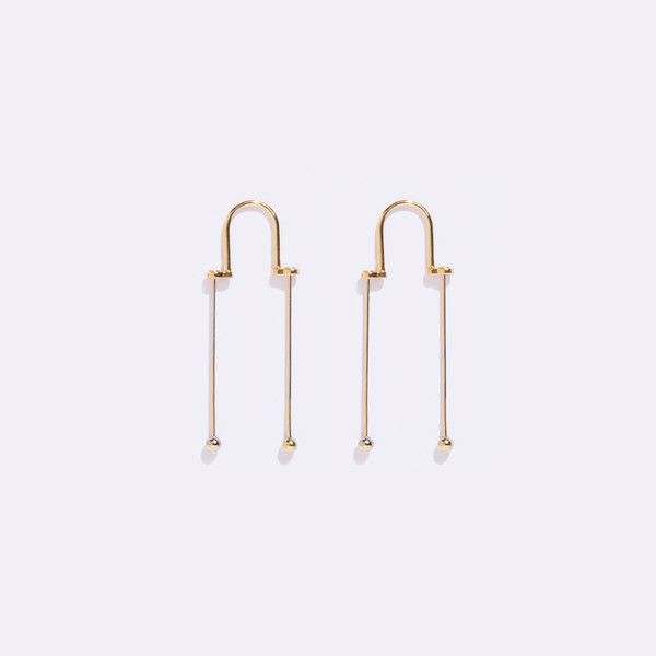 Metalepsis Projects Pendular Earrings