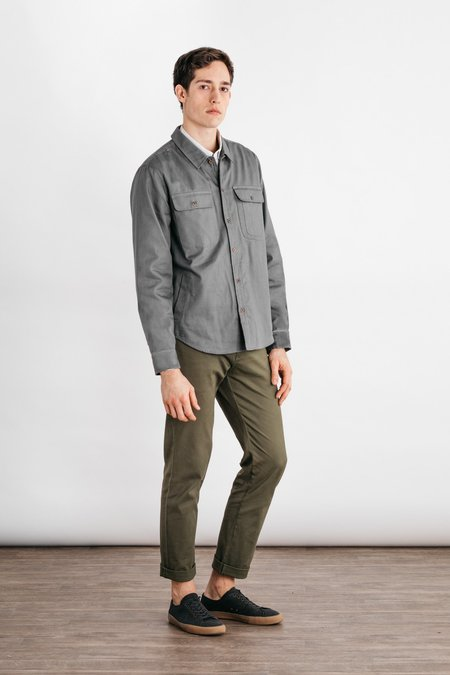 Bridge & Burn Graham Overshirt - Grey