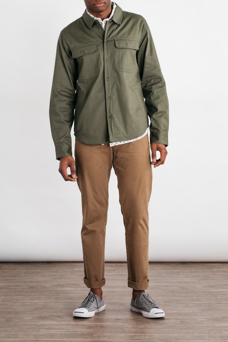 Bridge & Burn Graham Overshirt - Olive