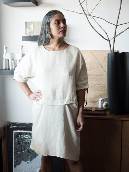 Valerie Dumaine Tiara Dress - Ivory