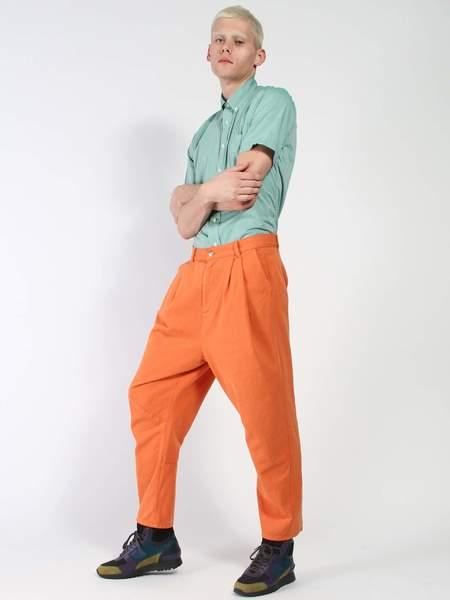 Henrik Vibskov Gush Twill Pant - orange