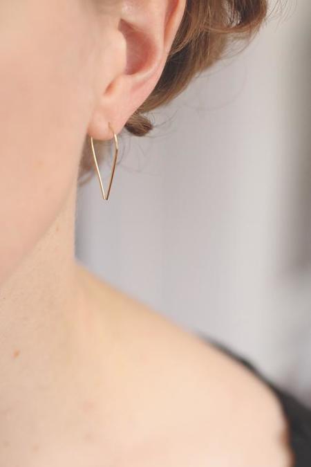 Rebecca Mir Grady Hera Earrings - Gold