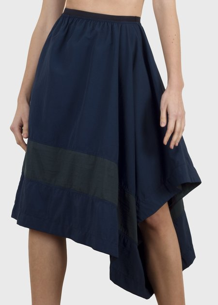 complexgeometries divide skirt - blue/green
