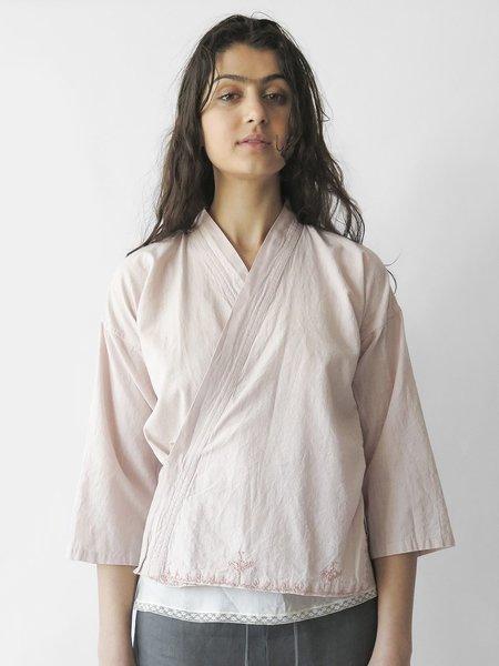 bsbee kimono shirt - white sand