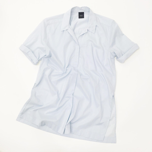 Sherie Muijs Shirt No. 12 - Light Blue Cotton