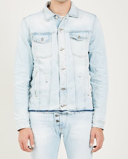 ARTMEETSCHAOS BOWERY DENIM JACKET - BLEACHED STONE WASH