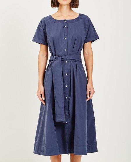 Alex Mill SHIRT DRESS - NAVY