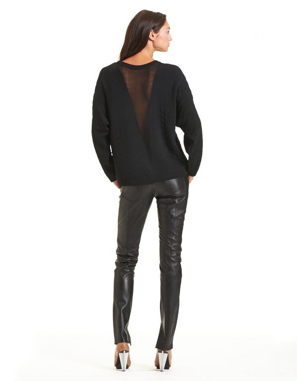 Rodebjer Abi Sweater Black