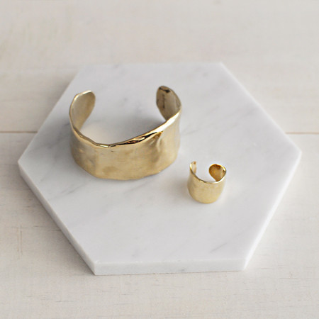 Odette New York LUNATE CUFF