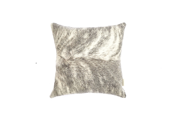 Primecut Grey Brindle Cowhide Pillow