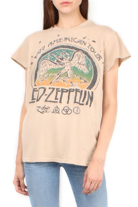 Madeworn Led Zeppelin 1977 Tee - Taupe