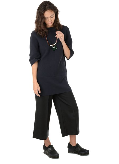 Marni Wide Legged Cropped Trouser