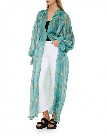 LUPE Vassilissa Printed Chiffon Dress