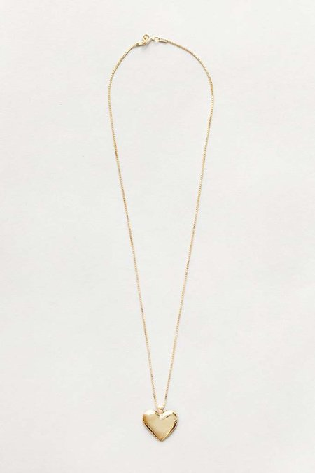 Wolf Circus Amourette Heart Necklace - Gold