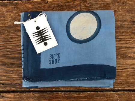 Block Shop Textiles Tidal Scarf - Ocean