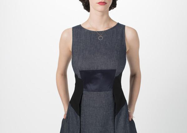Odeeh Fitted Waist Dress