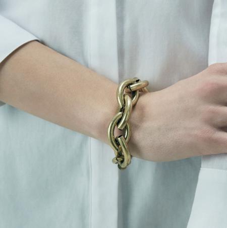Jenny Bird Sloane Chunky Links Bracelet - Gold