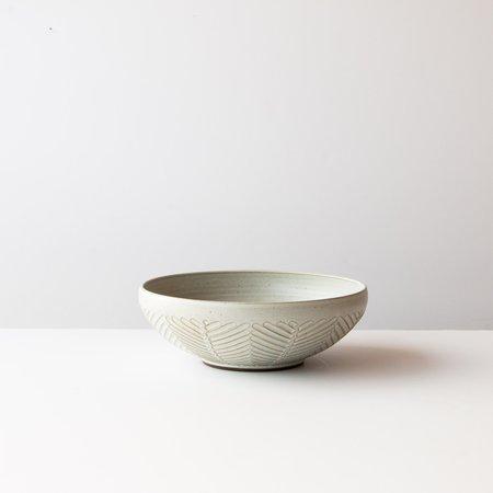 Christian Roy Large Serving/Poké Bowl - Herringbone Pattern