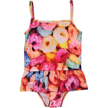 KIDS Romey Loves Lulu Swimsuit - Fruit Cereal
