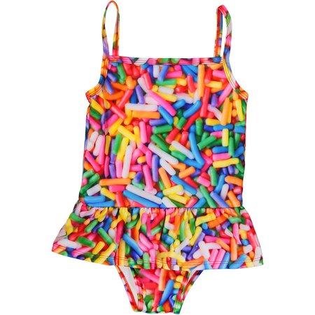 KIDS Romey Loves Lulu Swimsuit - Rainbow Sprinkles
