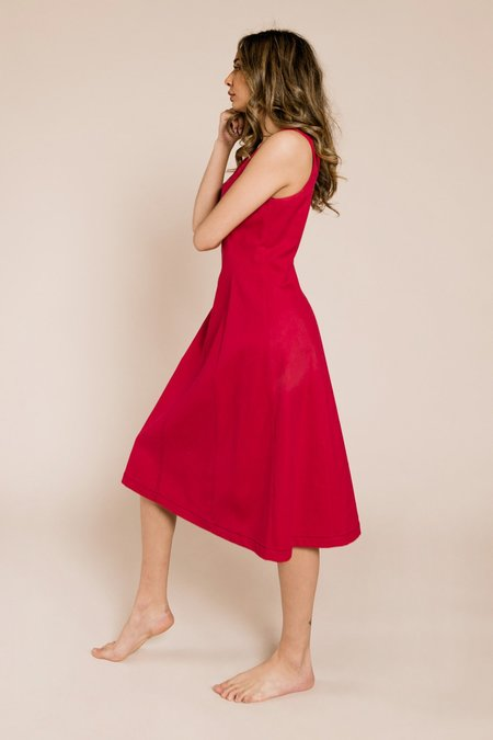 Veda Decade Dress - Cerise