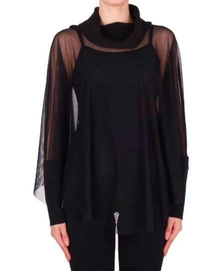Joseph Ribkoff Sheer Blouse