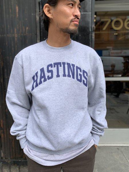 Tilted Brim For UC Hastings Champion Crewneck Sweatshirt - Grey
