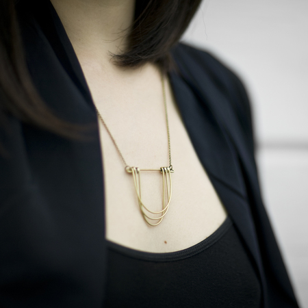 Hellbent Small Drape Necklace