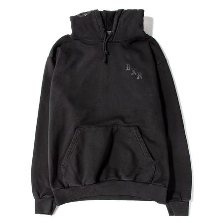 Born x Raised BXR Flocked Pullover Hoodie - Vintage Black