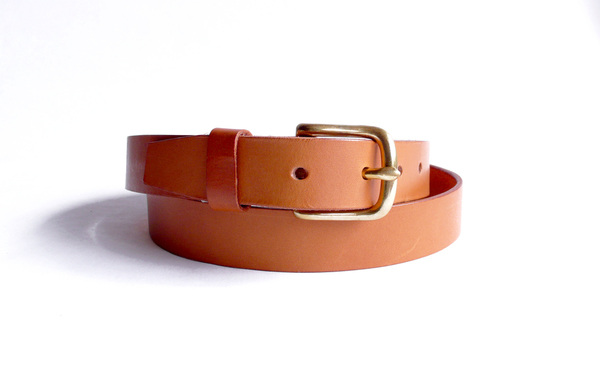 Sara Barner 1.25 in. Belt - Tan