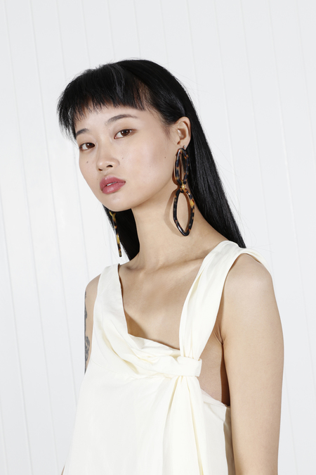 Rachel Comey Elm Earrings - Tortoise
