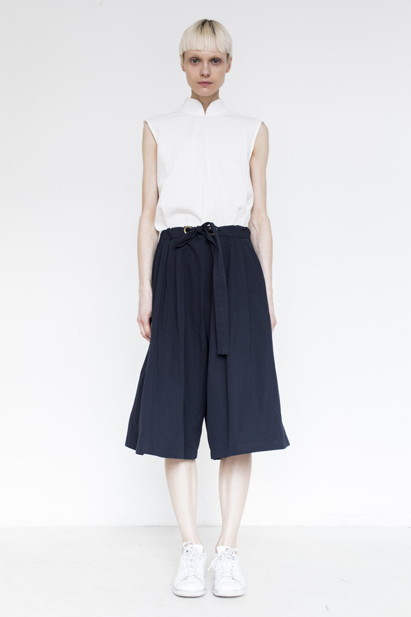 Assembly Cotton Baggy Short