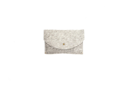 Primecut GREY PASSPORT CLUTCH