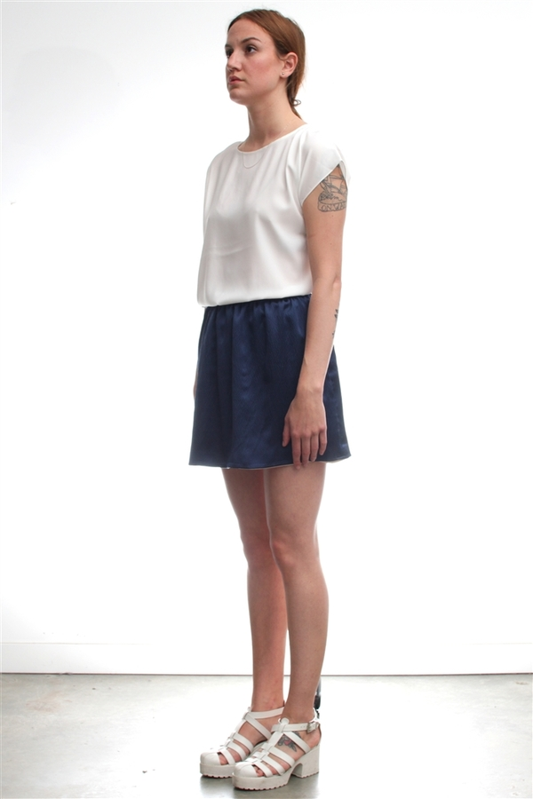 A Kind of Guise Reversible Silk Skirt