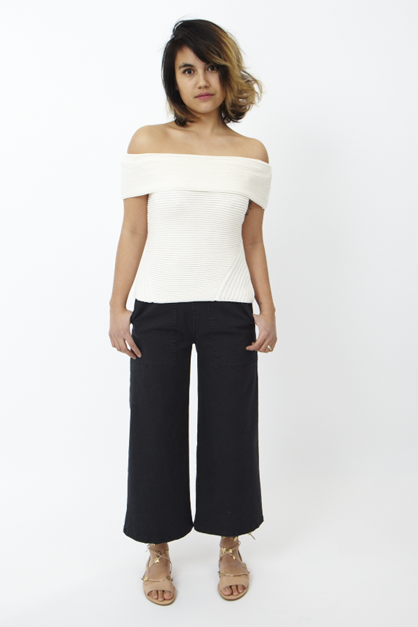 Cosette Francine Top Off White