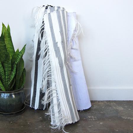 Task NY hand-woven cotton rag rugs