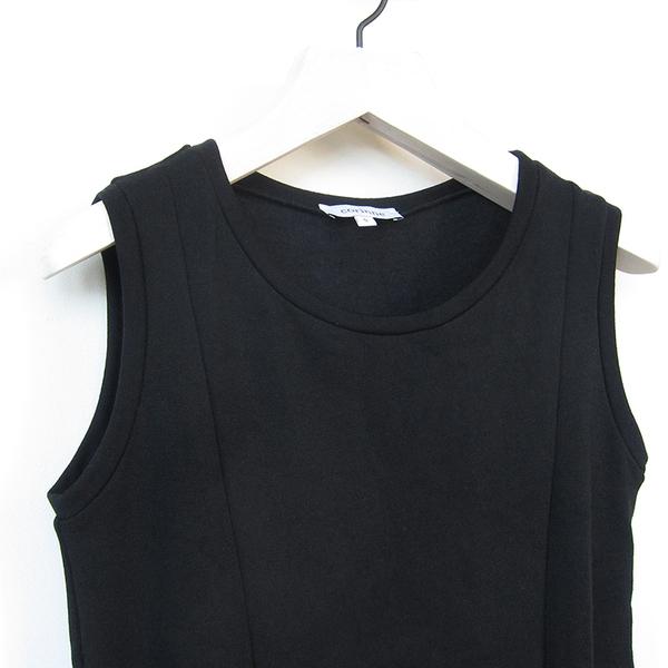Corinne Pocket dress - black