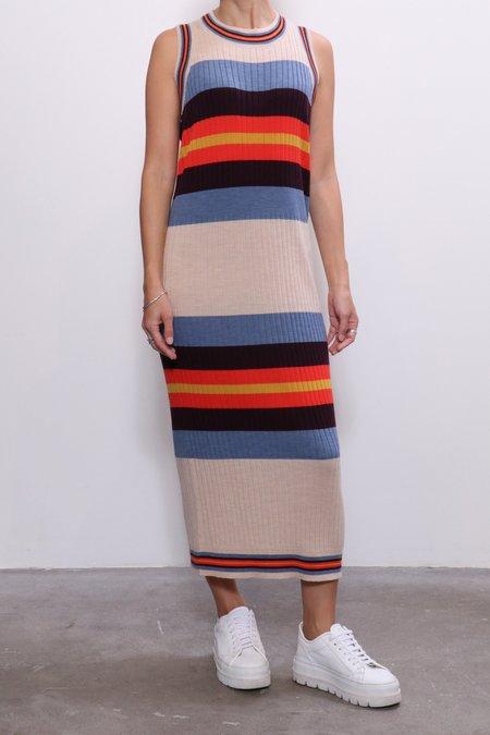 Henrik Vibskov Soap Knit Dress - Soap Stripes