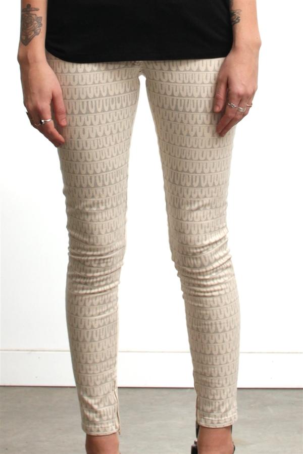 Nanushka India Feather Jeans