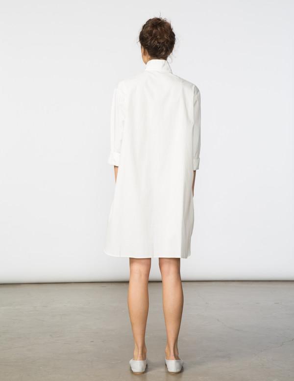 SBJ Austin Stacey Dress in White Window