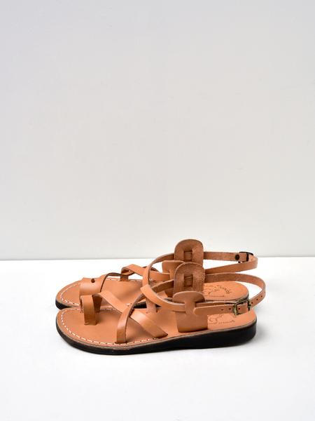 Jerusalem Sandals W. THE GOOD SHEPHERD BURKLE SANDAL - TAN